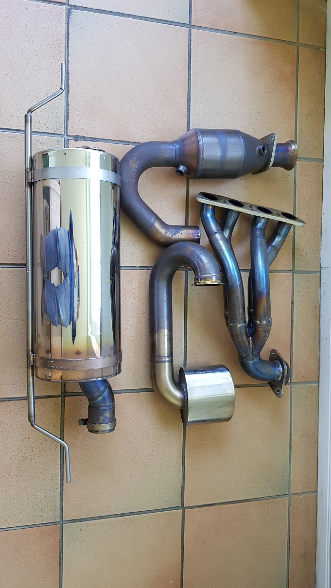 exhaust system making noise